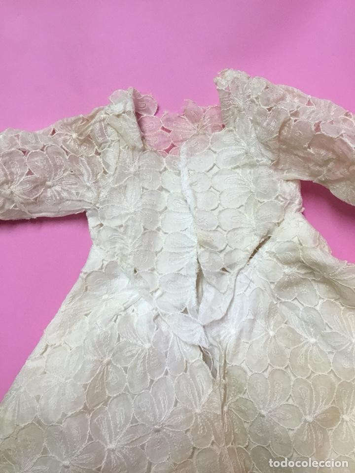 Vestidos Muñeca Española Clásica: Vestido de fiesta o novia para Cayetana, años 50 - Foto 5 - 143822953