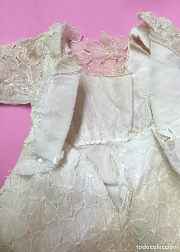 Vestidos Muñeca Española Clásica: Vestido de fiesta o novia para Cayetana, años 50 - Foto 6 - 143822953