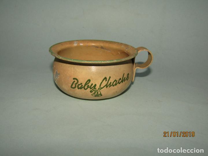 ANTIGUO ORINAL METÁLICO ORIGINAL DEL MUÑECO MUÑECA BABY CHACHE (Juguetes - Vestidos y Accesorios Muñeca Española Clásica (Hasta 1960) )