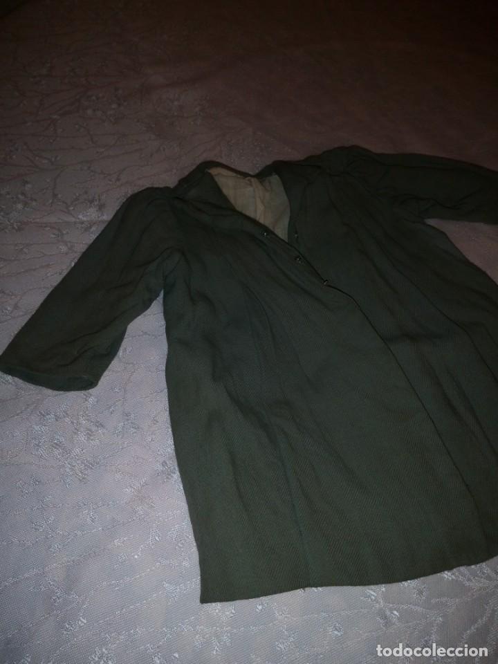 Vestidos Muñeca Española Clásica: Bonito abrigo de invierno mariquita pera,color verde oliva.forrado. - Foto 2 - 148497506