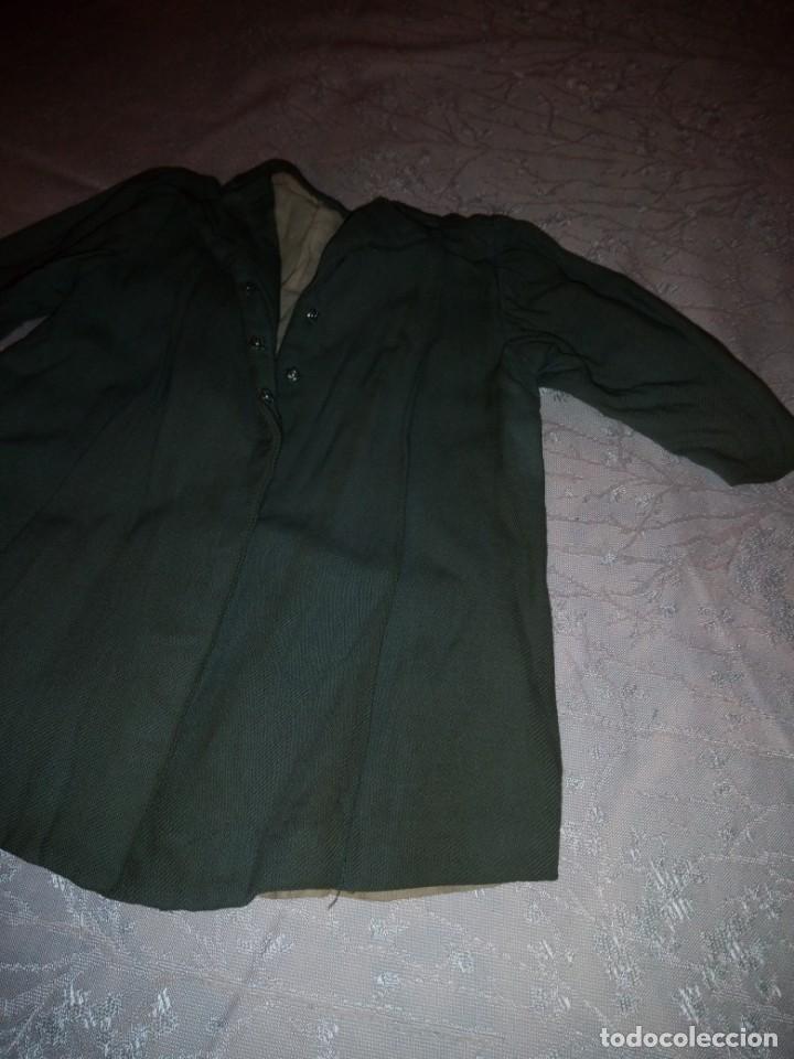Vestidos Muñeca Española Clásica: Bonito abrigo de invierno mariquita pera,color verde oliva.forrado. - Foto 3 - 148497506