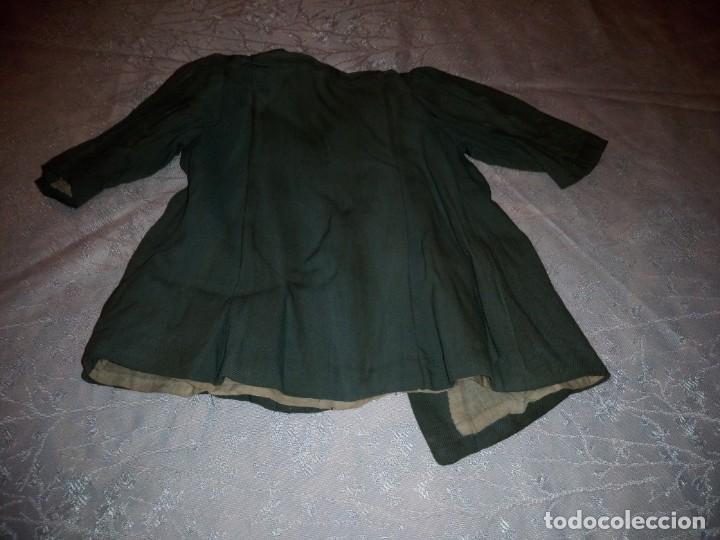 Vestidos Muñeca Española Clásica: Bonito abrigo de invierno mariquita pera,color verde oliva.forrado. - Foto 6 - 148497506