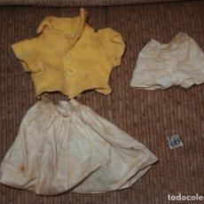 Vestidos Muñeca Española Clásica: CONJUNTO PRIMAVERA DE RANDY,BABS RANDY DOLL,SINDY,TAMMY,ETIQUETA,AÑO 1960. Lote 150622334