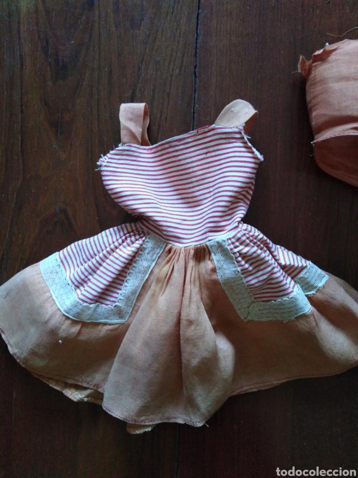 Vestidos Muñeca Española Clásica: Vestido antiguo de marisol 64 cm - Foto 2 - 151603273