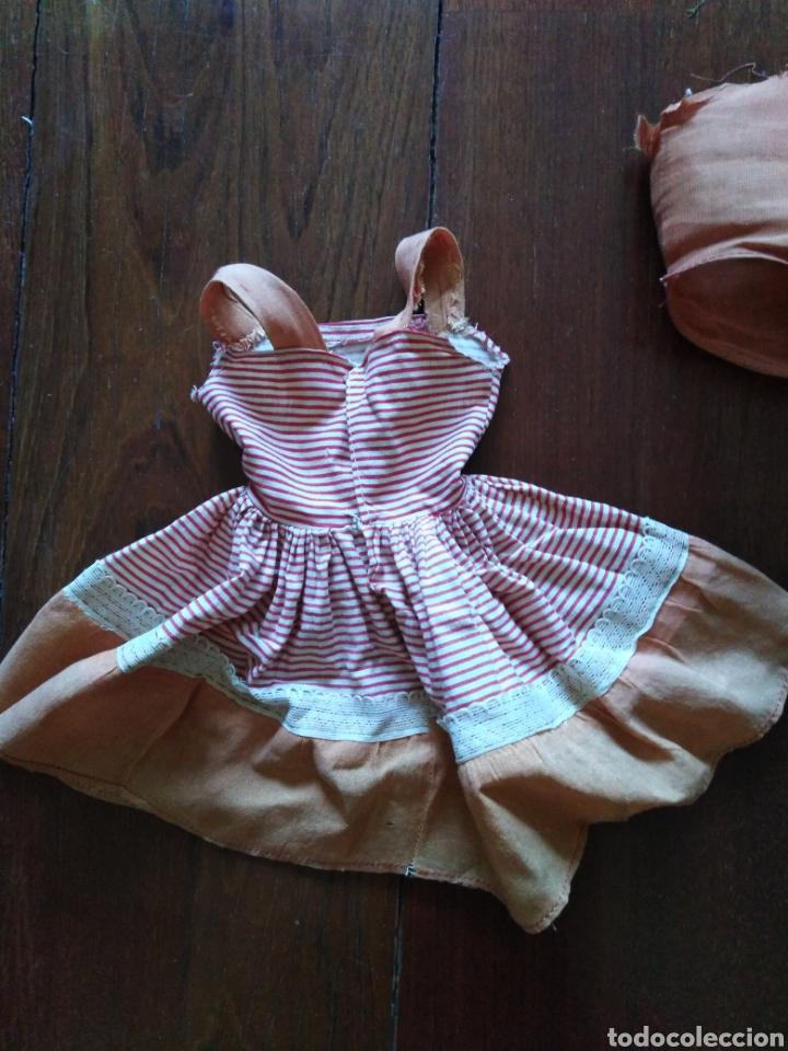 Vestidos Muñeca Española Clásica: Vestido antiguo de marisol 64 cm - Foto 3 - 151603273