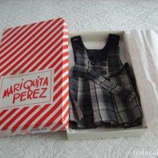 Vestidos Muñeca Española Clásica: ANTIGUO UNIFORME DE MARIQUITA PÉREZ DEL 2000. Lote 152311190