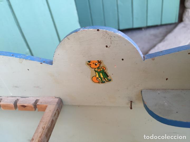 Vestidos Muñeca Española Clásica: Antigua cocina / cocinita de juguete de madera de los años 50 con fregadero y deposito - Foto 13 - 152371350