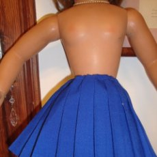 Vestidos Muñeca Española Clásica: FALDA TABLEADA PARA MUÑECA GUENDALINA. Lote 154288794