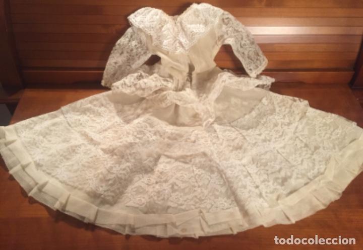 Vestidos Muñeca Española Clásica: Precioso vestido de encaje para muñeca - Foto 5 - 159045830