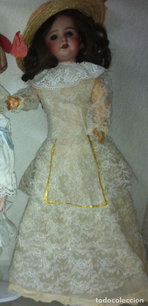 Vestidos Muñeca Española Clásica: Precioso vestido de encaje para muñeca - Foto 7 - 159045830