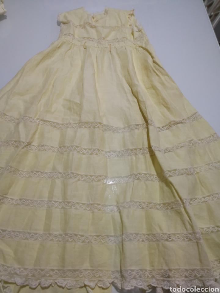 Vestidos Muñeca Española Clásica: ANTIGUO FALDON DE BEBE PARA MUÑECA - Foto 4 - 162512117