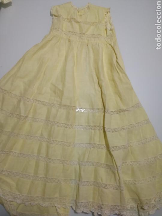 ANTIGUO FALDON DE BEBE PARA MUÑECA (Juguetes - Vestidos y Accesorios Muñeca Española Clásica (Hasta 1960) )