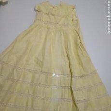 Vestidos Muñeca Española Clásica: ANTIGUO FALDON DE BEBE PARA MUÑECA. Lote 162512117