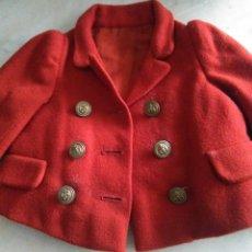 Vestidos Muñeca Española Clásica: CHAQUETÓN PARA MUECAS AÑOS 40.. Lote 163723510