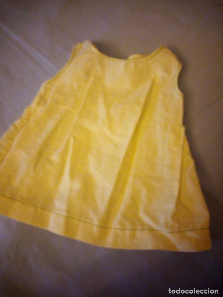 Vestidos Muñeca Española Clásica: Vestido amarillo mariquita perez. - Foto 2 - 172128832