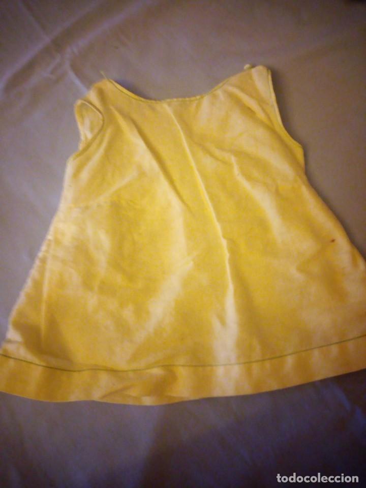 Vestidos Muñeca Española Clásica: Vestido amarillo mariquita perez. - Foto 4 - 172128832