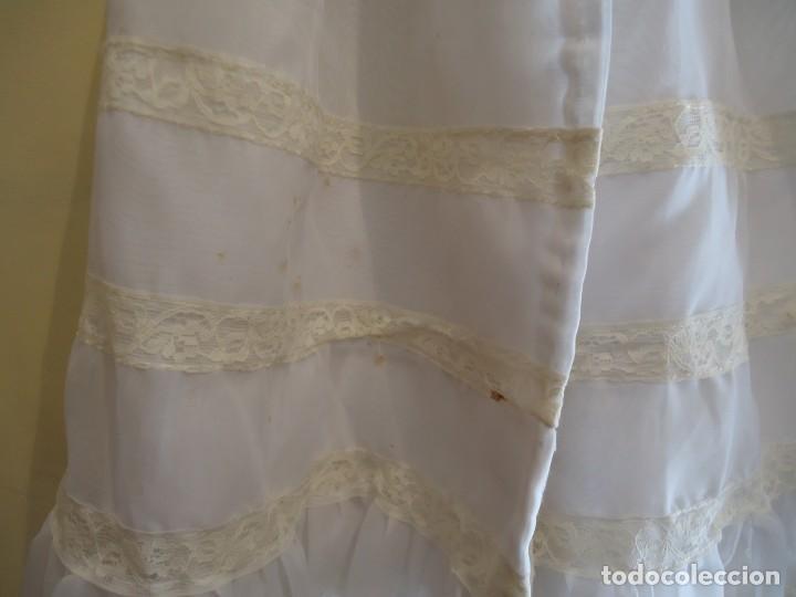 Vestidos Muñeca Española Clásica: FALDON PARA MUÑECA BEBE GRANDE - Foto 5 - 165779326