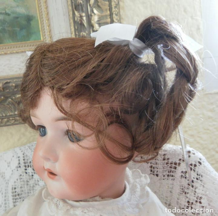 Vestidos Muñeca Española Clásica: peluca para la muñeca. Pelo natural. Contorno 33-35 cms. - Foto 3 - 168760000
