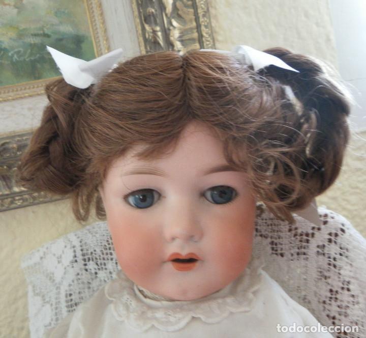 Vestidos Muñeca Española Clásica: peluca para la muñeca. Pelo natural. Contorno 33-35 cms. - Foto 5 - 168760000