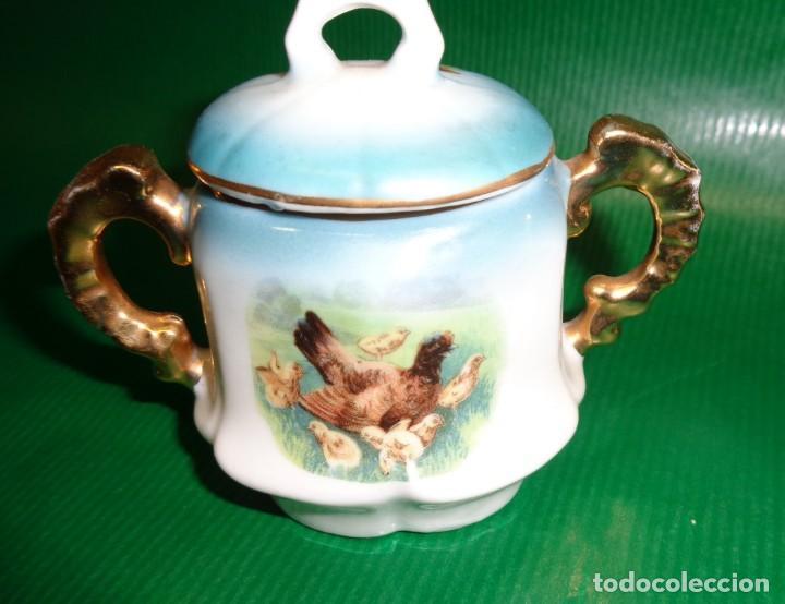 Vestidos Muñeca Española Clásica: Antiguo juego cafe o te para muñecas porcelana y oro, Aprox. años 1900-1910. - Foto 4 - 169011060