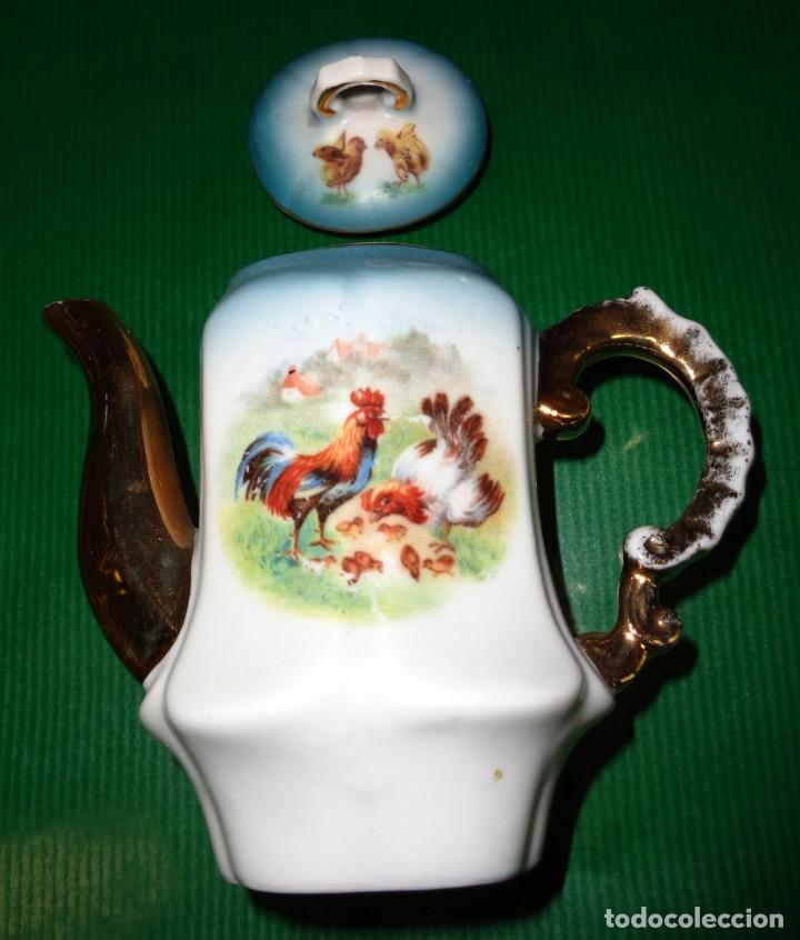 Vestidos Muñeca Española Clásica: Antiguo juego cafe o te para muñecas porcelana y oro, Aprox. años 1900-1910. - Foto 9 - 169011060