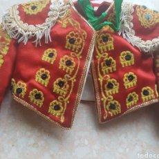 Vestidos Muñeca Española Clásica: CHAQUETILLA DE TORRERO PEQUEÑA MARCA XAFMAS.. Lote 169745502