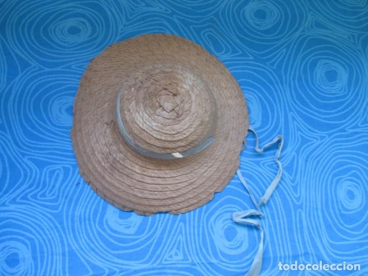 Vestidos Muñeca Española Clásica: ANTIGUA PAMELA O SOMBRERO. - Foto 2 - 173442387