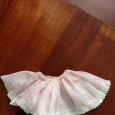 Vestidos Muñeca Española Clásica: CANCAN ANTIGUO BATISTA ROSA PARA PIERINA O GUENDALINA A18. Lote 175895153