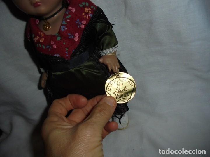 Vestidos Muñeca Española Clásica: LINDA PIRULA REGIONAL CON LA ETIQUETA COLGADA DEL BRAZO - Foto 2 - 176863547