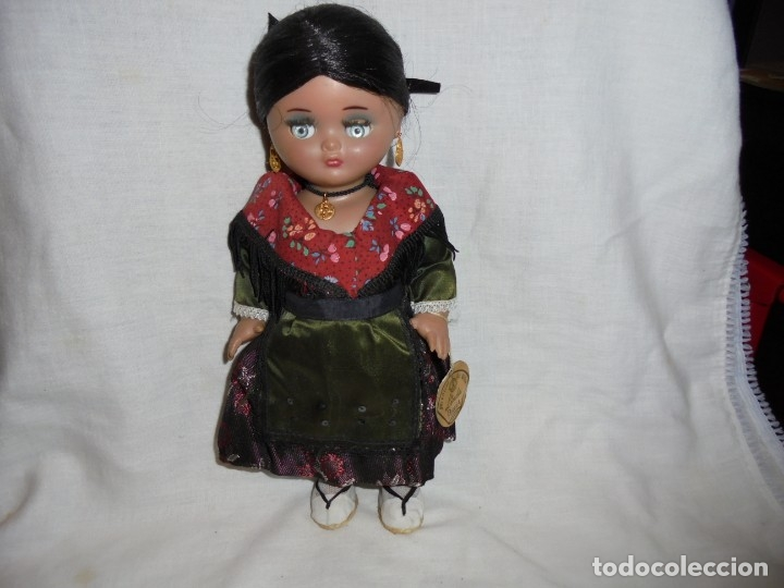 Vestidos Muñeca Española Clásica: LINDA PIRULA REGIONAL CON LA ETIQUETA COLGADA DEL BRAZO - Foto 3 - 176863547