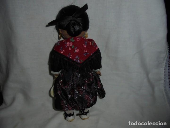 Vestidos Muñeca Española Clásica: LINDA PIRULA REGIONAL CON LA ETIQUETA COLGADA DEL BRAZO - Foto 5 - 176863547