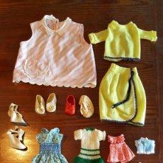 Vestidos Muñeca Española Clásica: LOTE DE VARIOS VESTIDITOS PARA MUÑECAS. Lote 178329591