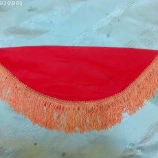 Vestidos Muñeca Española Clásica: MANTON ROJO CON NARANJA. Lote 183170908