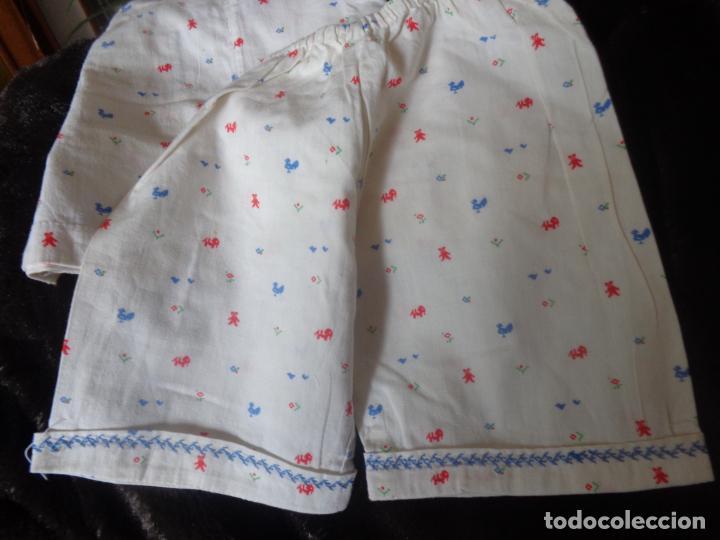 Vestidos Muñeca Española Clásica: PRECIOSO PIJAMA DE MILY, LA MAYOR DE LA FAMILIA DE CAYETANA, TODO BORDADITO, UN AMOR - Foto 3 - 184745233