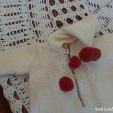 Vestidos Muñeca Española Clásica: SACO PARA BEBE CHACHE, ORIGINAL, LO COMPRÉ CON EL QUE TENGO A LA VENTA. MUY BONITO. Lote 184775865