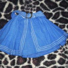 Vestidos Muñeca Española Clásica: FALDA VAQUERA MUÑECA GUENDALINA ORIGINAL. Lote 188259230