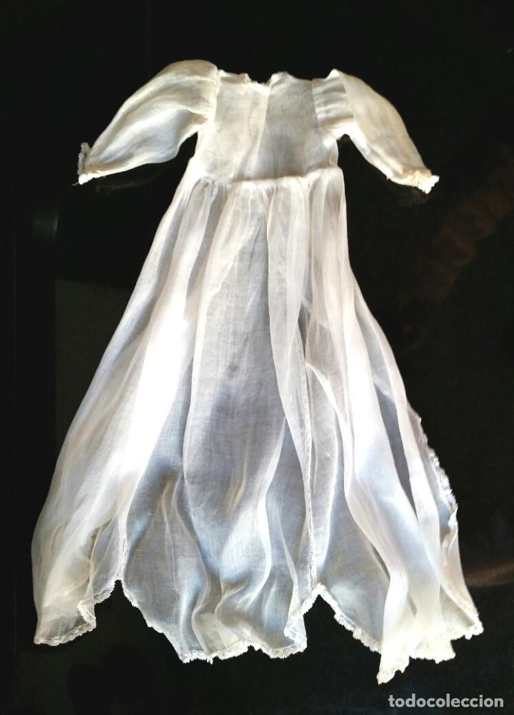 FALDON DE ORGANDÍ PARA BEBE TIPO JUANIN (Juguetes - Vestidos y Accesorios Muñeca Española Clásica (Hasta 1960) )