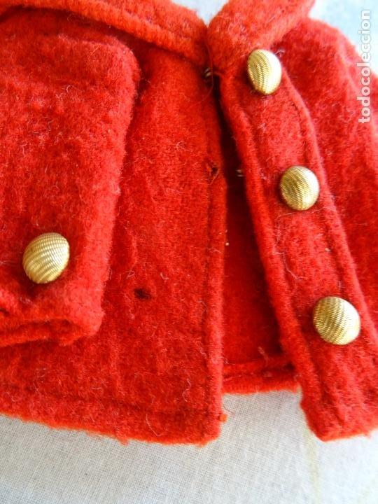 Vestidos Muñeca Española Clásica: PEQUEÑA CHAQUETA ANTIGUA PARA MUÑECA ANTIGUA - Foto 4 - 190724117