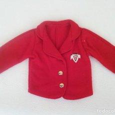 Vestidos Muñeca Española Clásica: CHAQUETA ABRIGO MUÑECA ANTIGUA MARILO. Lote 191215332