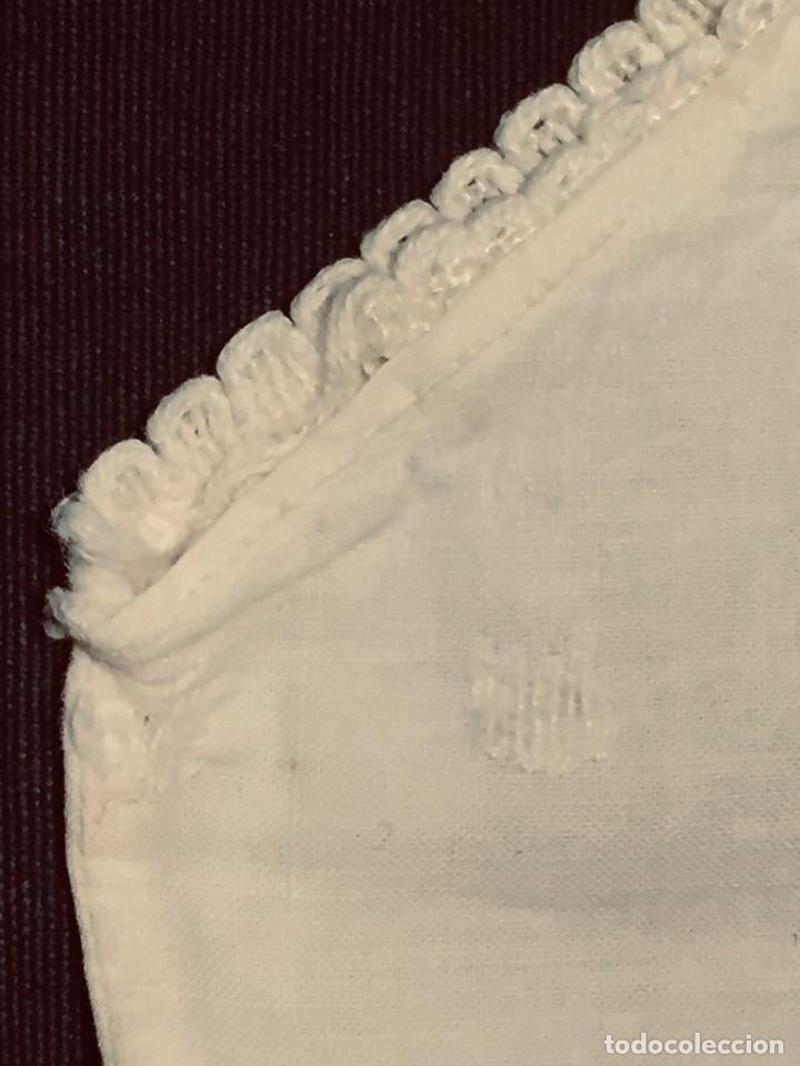 Vestidos Muñeca Española Clásica: PAÑAL BRAGA MARIQUITA PEREZ MUÑECA CLASICA ESPAÑOLA SIMILAR 12 X 15 CM PUNTILLA AÑOS 40 - Foto 5 - 192900903