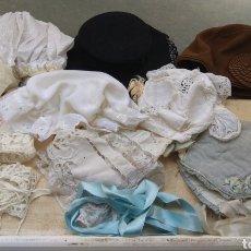 Vestidos Muñeca Española Clásica: LOTE SOMBREROS DE MUÑECAS. Lote 194407898