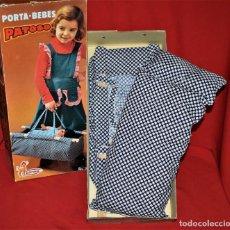 Vestidos Muñeca Española Clásica: PORTA BEBES PATOSO DE VICMA NUEVO A ESTRENAR. Lote 194628110
