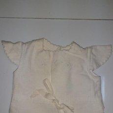 Vestidos Muñeca Española Clásica: BLUSON BLANCO CON BORDADOS (1044). Lote 194689090
