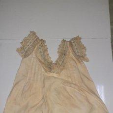 Vestidos Muñeca Española Clásica: ENAGUA CON ENCAJE (1047). Lote 194689367