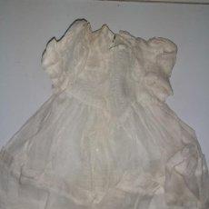 Vestidos Muñeca Española Clásica: VESTIDO BLANCO (1049). Lote 194689527