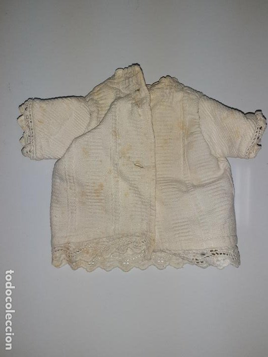 Vestidos Muñeca Española Clásica: BLUSITA CON ENCAJE MANGA VORTA (1046) - Foto 2 - 194690088