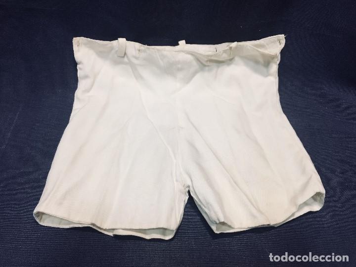 PANTALONES ALGODON FORRO INTERIOR MITAD S XX MUÑECO MUÑECA ANCHO 28,5CMS (Juguetes - Vestidos y Accesorios Muñeca Española Clásica (Hasta 1960) )