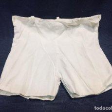 Vestidos Muñeca Española Clásica: PANTALONES ALGODON FORRO INTERIOR MITAD S XX MUÑECO MUÑECA ANCHO 28,5CMS. Lote 194998016