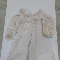 Vestidos Muñeca Española Clásica: VESTIDO BLANCO MUY ANTIGUO (CA1068). Lote 195187006