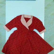 Vestidos Muñeca Española Clásica: VESTIDO ROJO Y ROSA (CA1082). Lote 195190595